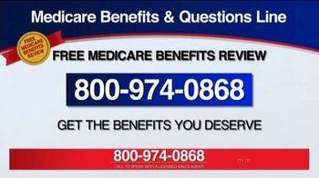 Medicare Benefits Helpline TV Spot, 'Additional Benefits' - Thumbnail 4