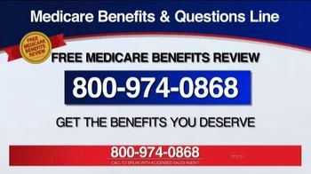 Medicare Benefits Helpline TV Spot, 'Additional Benefits' - Thumbnail 6