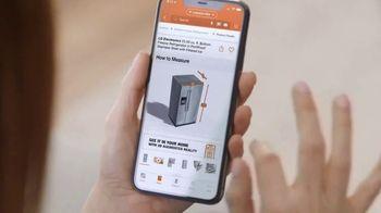 The Home Depot TV Spot, 'Appliance Help: LG Refrigerator' - Thumbnail 4
