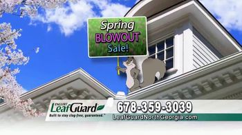LeafGuard of North Georgia Spring Blowout Sale TV Spot, 'Ready for Spring' - Thumbnail 3
