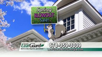 LeafGuard of North Georgia Spring Blowout Sale TV Spot, 'Ready for Spring' - Thumbnail 8