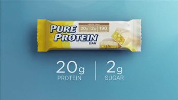 Pure Protein Lemon Cake TV Spot, 'Feed a Healthy Lifestyle' - Thumbnail 9