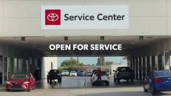 Toyota TV Spot, 'Here to Help: Open Toyota Service Centers' [T2] - 4 commercial airings