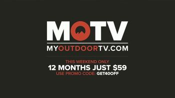 My Outdoor TV TV Spot, 'Stay Home: 40 Percent Off' - Thumbnail 9