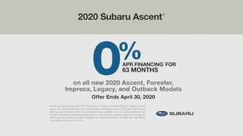 2020 Subaru Ascent TV Spot, 'A Big Day Out' [T2] - Thumbnail 8