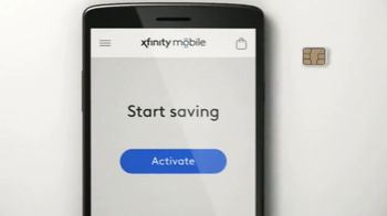 XFINITY Mobile TV Spot, 'Save Without Leaving the House' Song by Henry Parsley - Thumbnail 3