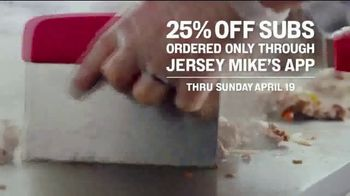 Jersey Mike's TV Spot, 'A Sub Above: 25% Off' - Thumbnail 5