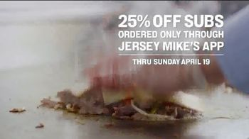 Jersey Mike's TV Spot, 'A Sub Above: 25% Off' - Thumbnail 6