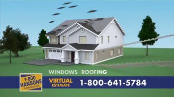 1-800-HANSONS TV Spot, 'Your Home: 60% Off and Virtual Estimate' - Thumbnail 9