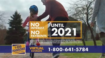 1-800-HANSONS TV Spot, 'Your Home: 60% Off and Virtual Estimate' - Thumbnail 8