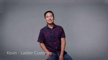 Ladder Financial Life Insurance TV Spot, 'Customer Testimonials: Kevin'