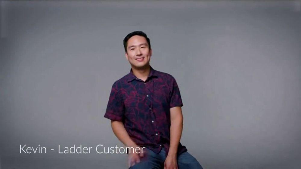 Ladder Financial Life Insurance TV Commercial, 'Customer Testimonials: Kevin'