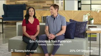 Tommy John Spring Sale TV Spot, '25 Percent Off and Free Shipping'
