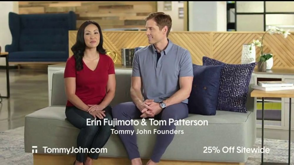 Tommy John Spring Sale TV Commercial, '25 Percent Off and Free Shipping'
