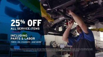 AutoNation TV Spot, '2019 & 2020 Chevrolet Models: 25 Percent Off Service Items' - Thumbnail 5