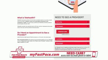 Fast Pace Health TV Spot, 'Telehealth Solution During Pandemic' - Thumbnail 6