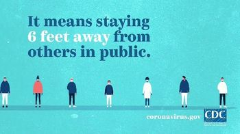 Centers for Disease Control and Prevention TV Spot, 'COVID-19: Protect Yourself: Social Distancing' - Thumbnail 4