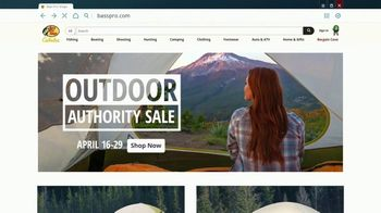 Bass Pro Shops Outdoor Authority Sale TV Spot, 'Before the Road Trips: Pro Qualifier Reel' - Thumbnail 4