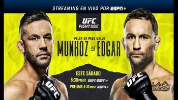 ESPN+ TV Spot, 'UFC Fight Night: Munhoz vs. Edgar' [Spanish] - 100 commercial airings