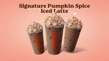 Dunkin' TV Spot, 'Pumpkin: Nothing Better'