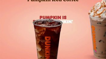 Dunkin' TV Spot, 'Pumpkin: Nothing Better' - Thumbnail 7