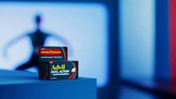 Advil Dual Action With Acetaminophen TV Spot, 'Fights Pain in Two Ways' - Thumbnail 2