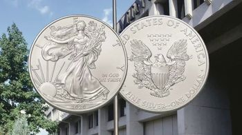 GovMint.com Emergency Production 2020 American Eagle Silver Dollars TV Spot, 'Important Factor' - Thumbnail 2