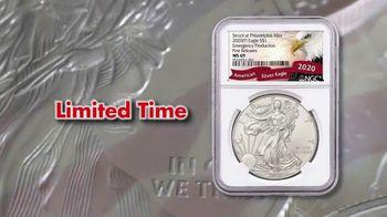 GovMint.com Emergency Production 2020 American Eagle Silver Dollars TV Spot, 'Important Factor' - Thumbnail 4