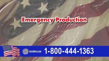 GovMint.com Emergency Production 2020 American Eagle Silver Dollars TV Spot, 'Important Factor' - Thumbnail 5