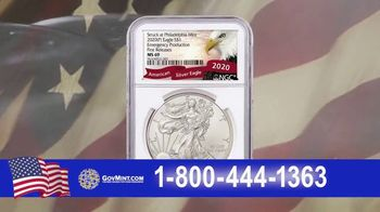GovMint.com Emergency Production 2020 American Eagle Silver Dollars TV Spot, 'Important Factor' - Thumbnail 6