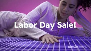Purple Mattress Labor Day Sale TV Spot, 'Complete Relaxation: Up to $350'