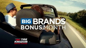 Tire Kingdom Big Brands Bonus Month TV Spot, '$100 Mail-In Rebate Plus $75' - Thumbnail 2