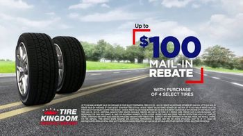 Tire Kingdom Big Brands Bonus Month TV Spot, '$100 Mail-In Rebate Plus $75' - Thumbnail 4