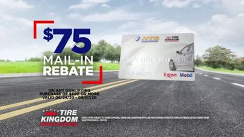Tire Kingdom Big Brands Bonus Month TV Spot, '$100 Mail-In Rebate Plus $75' - Thumbnail 6