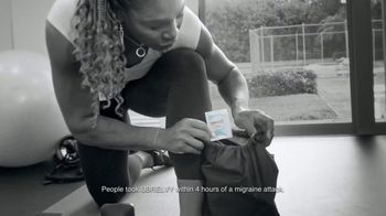 UBRELVY TV Spot, 'Stop Migraines in Its Tracks' Featuring Serena Williams