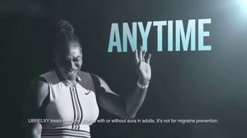 UBRELVY TV Spot, 'Stop Migraines in Its Tracks' Featuring Serena Williams - Thumbnail 2