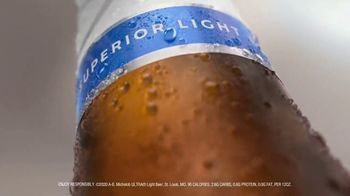 Michelob ULTRA TV Spot, 'In the Name of Fitness' - 2838 commercial airings