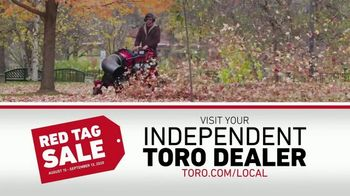 Toro Red Tag Sale TV Spot, 'From Start to Finish' - Thumbnail 9