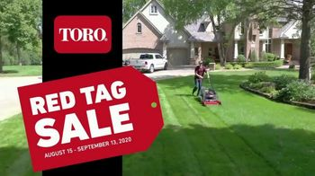 Toro Red Tag Sale TV Spot, 'From Start to Finish' - Thumbnail 6