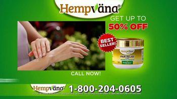 Hempvana Gold Pain Relief Cream TV Spot, 'The Tough Got Going: 50% Hempvana Gold' Featuring Mike Alstott - Thumbnail 10