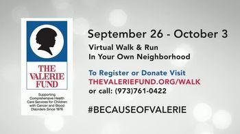 The Valerie Fund TV Spot, '2020 Virtual Walk and Run' - Thumbnail 8
