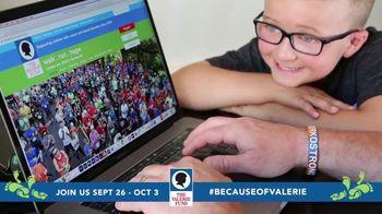 The Valerie Fund TV Spot, '2020 Virtual Walk and Run' - Thumbnail 3