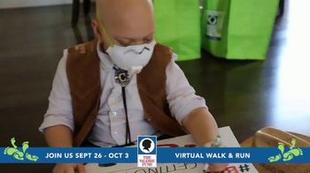 The Valerie Fund TV Spot, '2020 Virtual Walk and Run' - Thumbnail 5