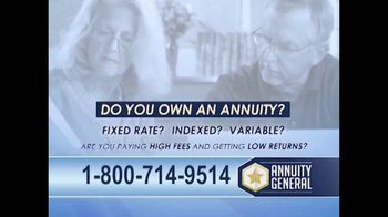 Annuity General TV Spot, 'Do You Own an Annuity?: Annuity Do's and Don'ts' - Thumbnail 1
