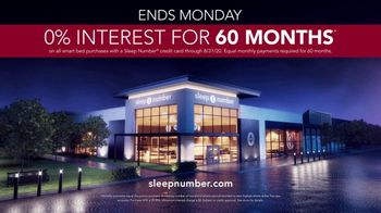Sleep Number Biggest Sale of the Year TV Spot, 'Save 50%, 0% Interest for 60 Months' - Thumbnail 8