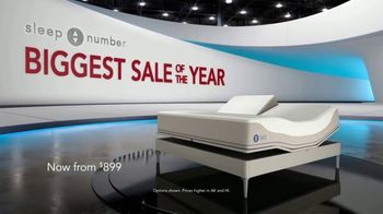 Sleep Number Biggest Sale of the Year TV Spot, 'Save 50%, 0% Interest for 60 Months' - Thumbnail 1