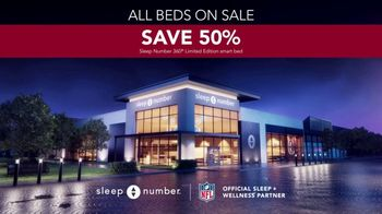 Sleep Number Biggest Sale of the Year TV Spot, 'Save 50%, 0% Interest for 60 Months' - Thumbnail 7