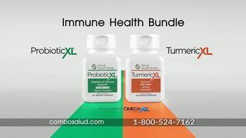 Omega XL Immune Health Bundle TV Spot, 'Triple acción: $44.95 dólares' con Ana María Polo [Spanish] - Thumbnail 3
