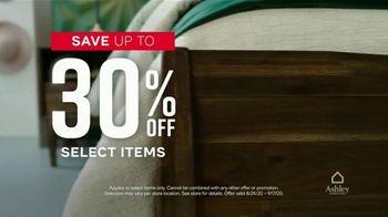 Ashley HomeStore Labor Day Sale TV Spot, '30% Off' - Thumbnail 4