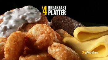 Hardee's $2, $3, More Breakfast Menu TV Spot, 'Wake Up Your Happy'